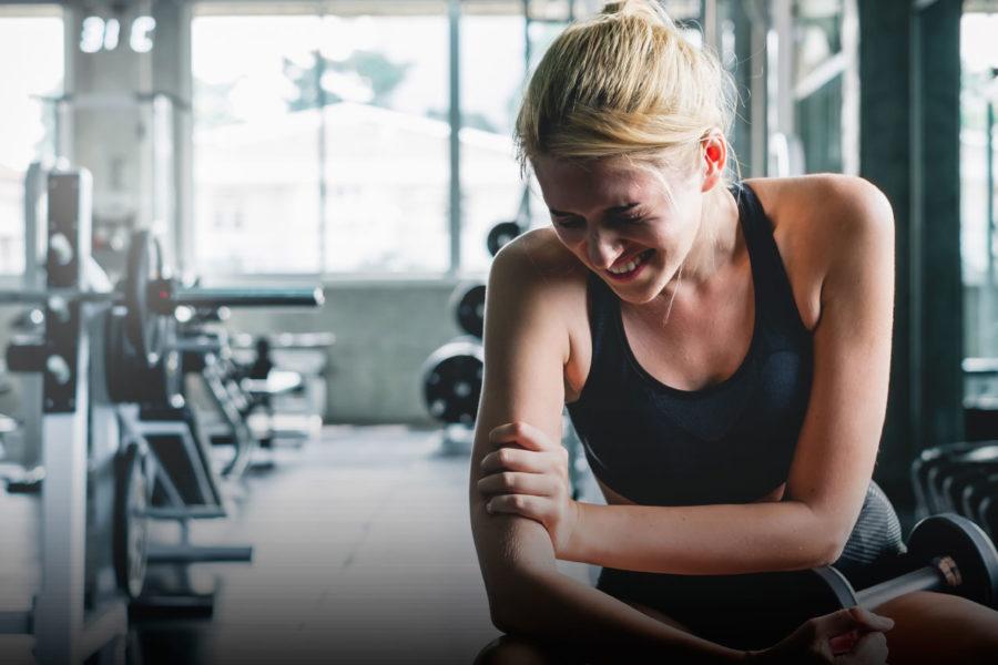 Lesiones más comunes en gimnasios